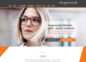 Augenweide Werther - unsere neue Homepage