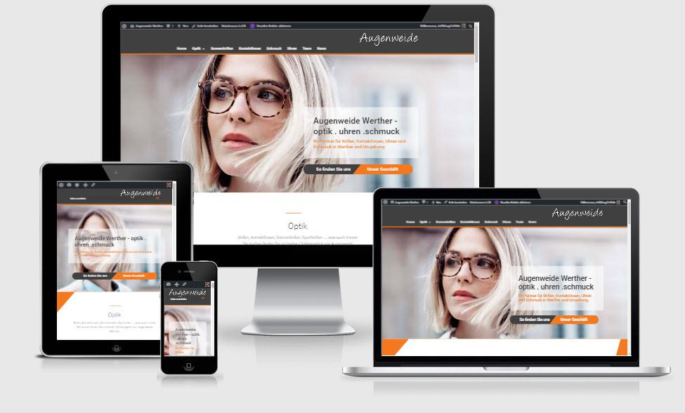 Neue Augenweide Website geht online